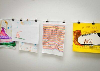 Colgante dibujos niños