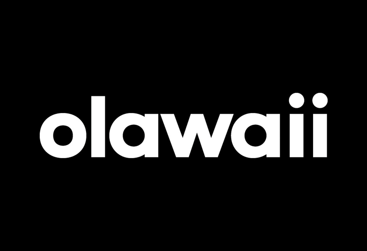 olawaii tipografia. Branding