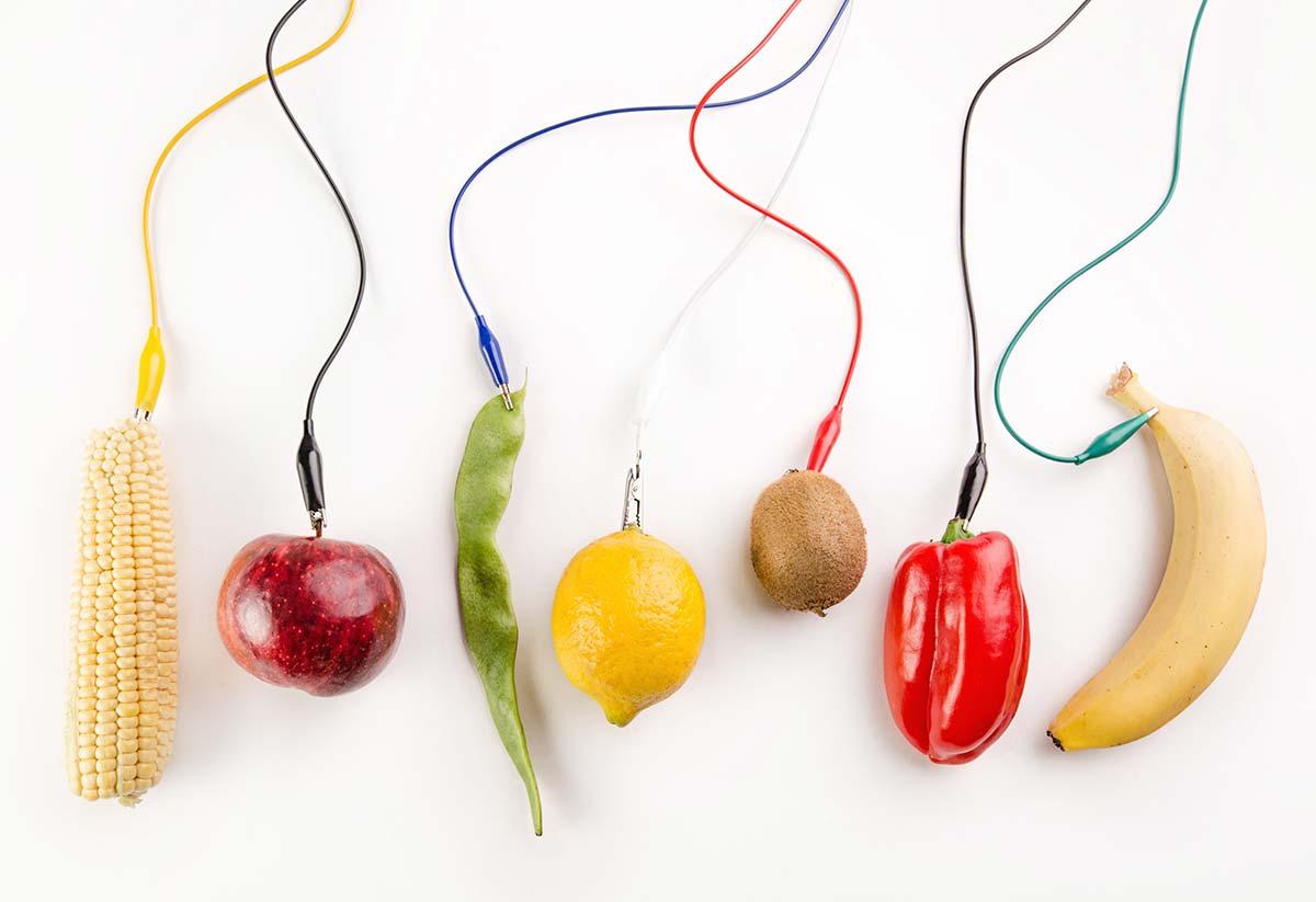 Fotografía frutas y verduras. Diverkit.