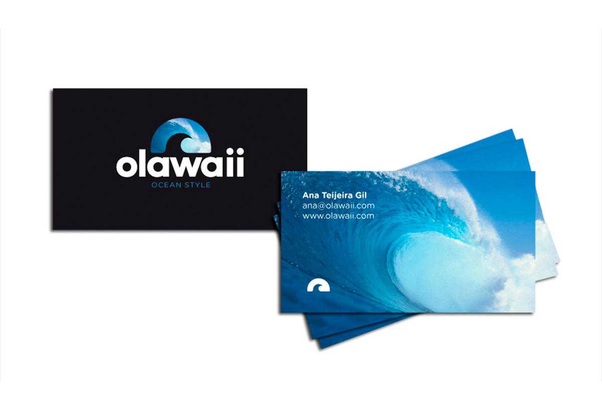 Tarjetas personales. Olawaii