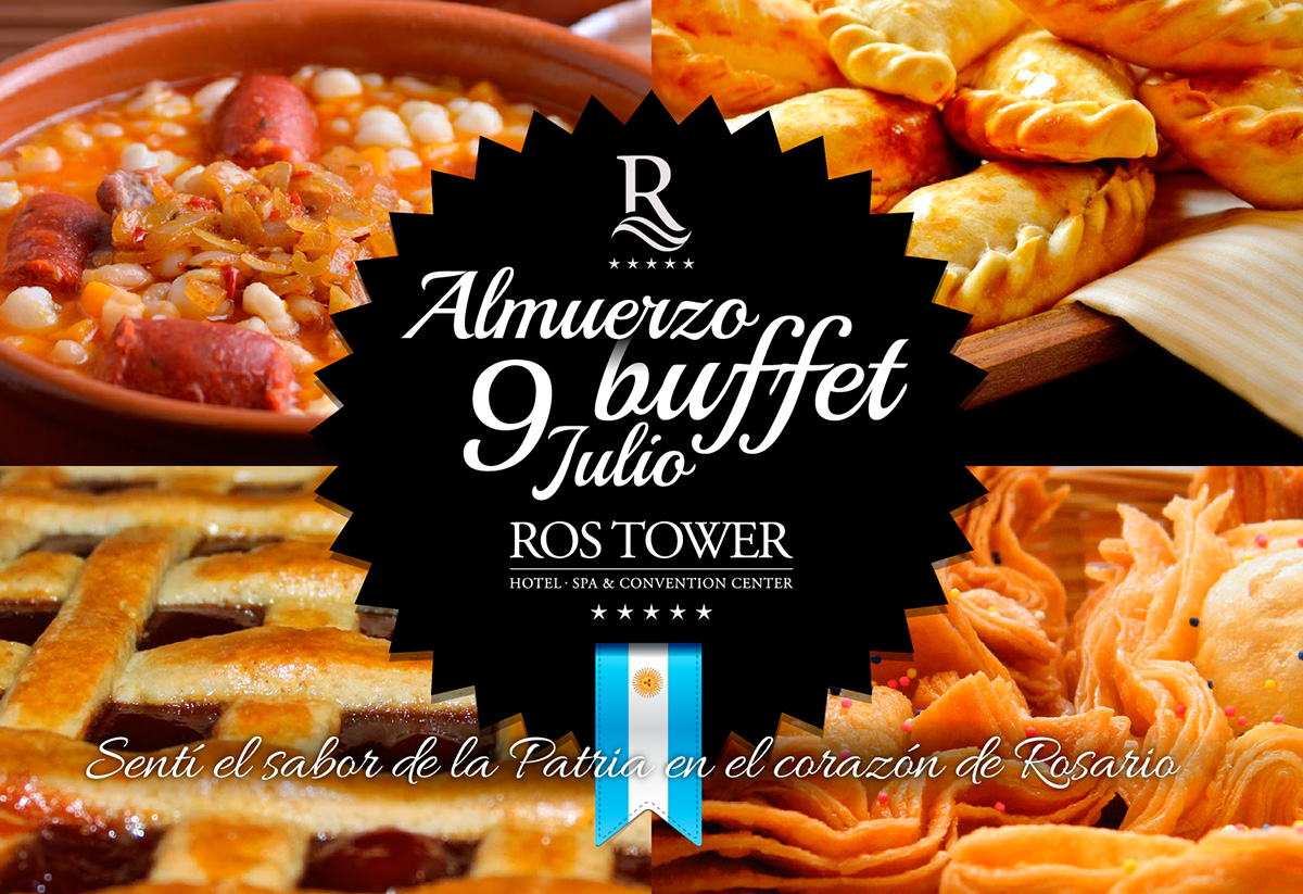 rostower almuerzo 9 de julio. Marketing