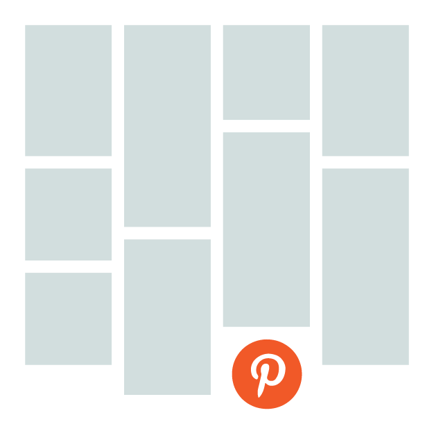 Diseño estilo Pinterest