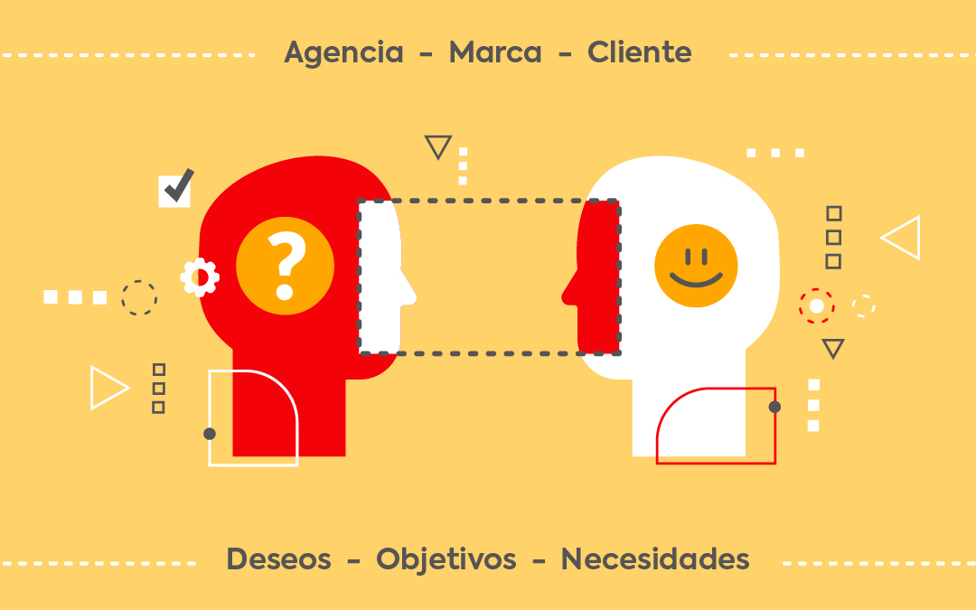 Tríada en el Marketing: agencia, marca, cliente