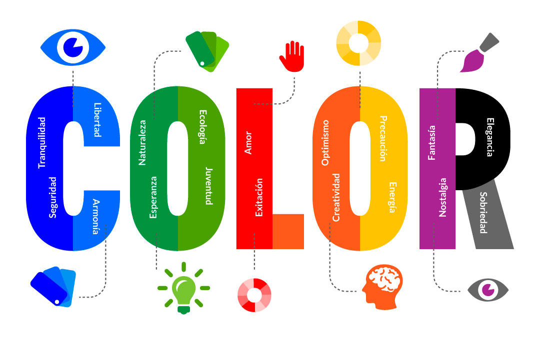 significado del color blanco en diseño grafico