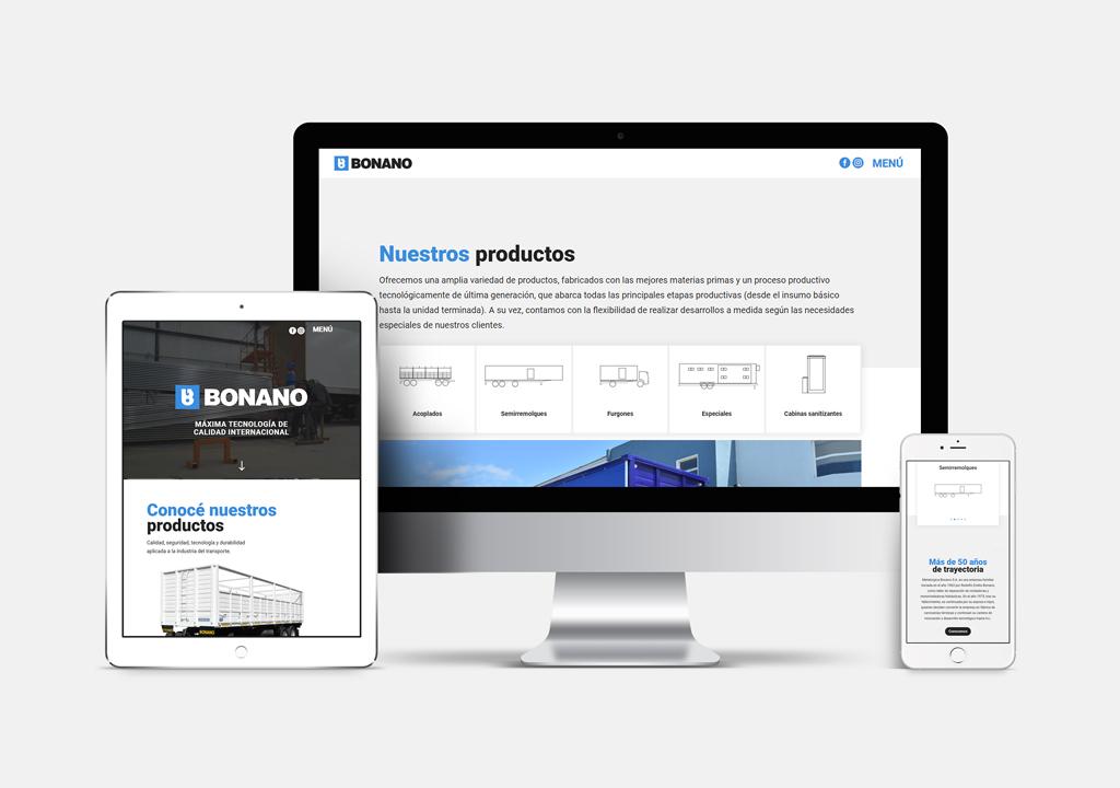 web - BONANO